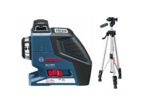 6010150033-BOSCH-GLL2-80P+BS150 Bosch Line Laser 2 Plane 20M Working Range 0601063205