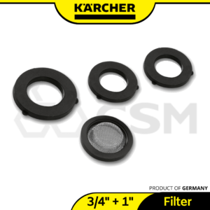1-G34in Gasket Set For Karcher Garden Hose Connector 2.645-073