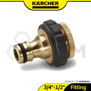 Brass G34in With G12in Reducer Tap Adaptor Karcher Garden Hose Connector 2.645-013