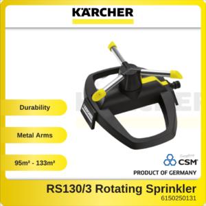 6150250131-KARCHER RS1303 Way Rotating Sprinkler Garden Watering System 2.645-019.0