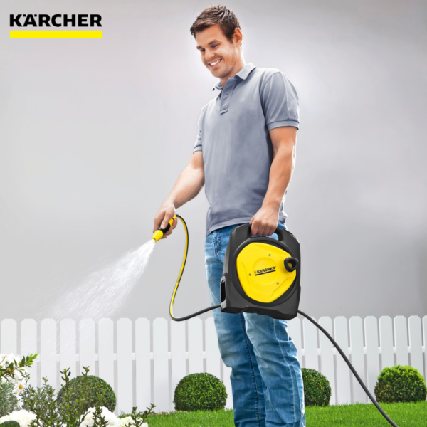 CR3.110-10M-5-16in Balcony Karcher Garden Hose Compact Reel With Hose 2.645-210