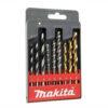 8050102080-Makita-MAKITA 9P 568MM MASONRYWOODMETAL ASSORTED DRILL SET D-08660