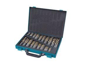 8050102087-Makita-MAKITA 170P 1~10MM ASSORTED TiN-COATED DRILL SET D-30564