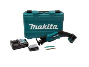 6010010123-MAKITA-JR105DWAE-12V-LI Makita Li-Ion Battery Sabre Saw 2x12V-2.0Ah BL1021B DC10WD