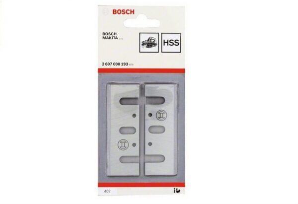 6010310158-BOSCH-2p Bosch Planer HSS Blade For GHO10-82 2607000193