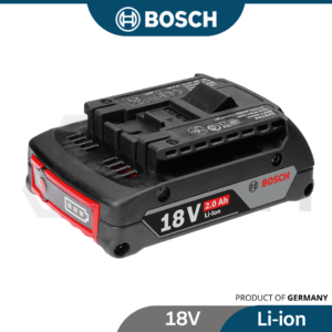 6010310324-BOSCH GBA18V-2.0AH M-B Li-ion Slide Red Pack Premium Battery 1600A001CG (1)