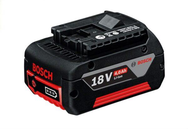 6010310325-BOSCH-GBA18V-4.0AH M-C Li-ion Slide Red Pack Premium Bosch Battery Cool Pack 1600A00163