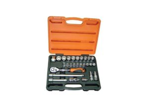 6020020019-MR MARK-MK-TOL-4627-06P Mr.Mark 06P 27p 1-2in Dr. Socket Wrenches Set