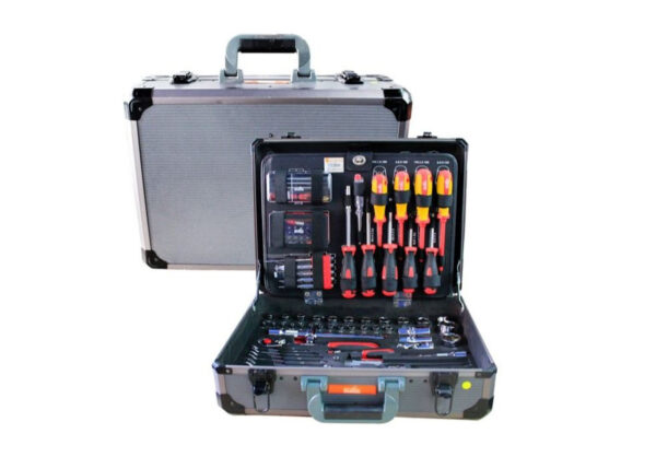 6020020025-MR MARK-MK-SET-392 Mr.Mark 130p Tool Kit Set With Aluminium Tools Case