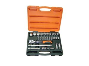 6020020058-MR MARK-MK-TOL-4627-12P Mr.Mark 12P 27p 1-2in Dr. Socket Wrenches Set