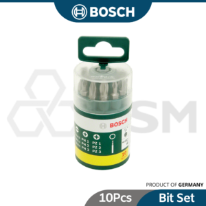 6020080925 10p BOSCH SCREWDRIVER BIT SET 2607019454 (1)