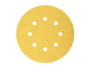 604003014901-Bosch-100p G220 125mm 8Holes Velcro Bosch Sanding Disc 2608608T70