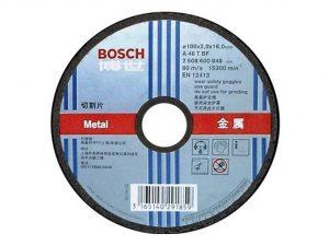604007006101-BOSCH-25p 7in Bosch Cutting Disc 180x3x22.2mm 2608600272