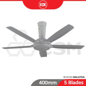 6110020156-KDK K14YZ-GY Grey 565 Blade Remote Control Ceiling Fan (3)