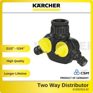 6150250142 - Two Way G12-G34in Tap Adaptor Karcher Garden Hose Connector 2.645-199.0