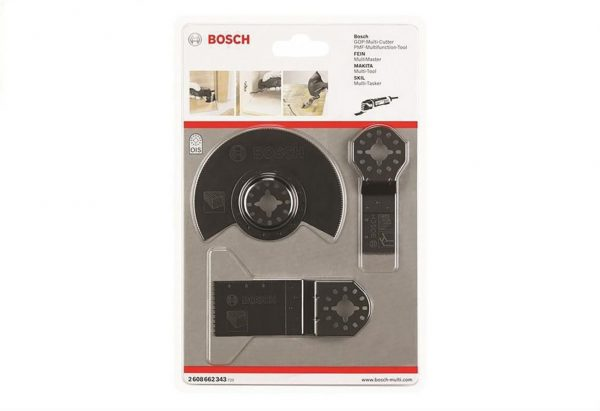 8010310046-BOSCH-3in1 Basic Wood Set Bosch OIS Multi-Cutter Saw Blade 2608662343