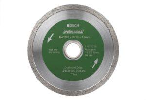 8050070172-BOSCH-4in-105mm Tile Marble Bosch Diamond Disc 2608600704