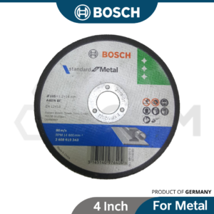 BOSCH 4 Inch Eco Metal Cutting Disc for Standard Metal 2608619343 2608603412 2608600091 2608600266 2608607414