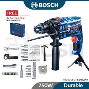 6010050010-BOSCH GSB16RE-Blow Impact Drill With PVC Case 16MM 750W 240V 06012281L2
