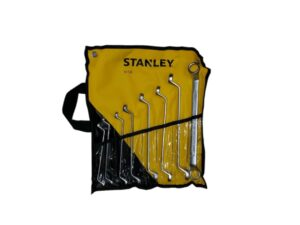 6020020071-STANLEY-87-576-1-22 8p 6~22mm 75Deg Stanley Offset-Box End Wrench Set