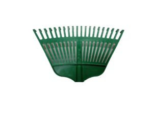 6020170237-CSM-PVC Green Garden Rake With Out Handle
