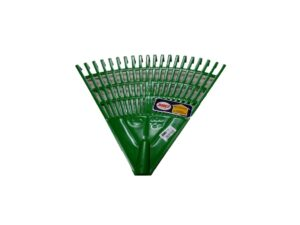 6020170317-RAYACO-920-Rayaco PVC Heavy Duty Green Garden Rake With Out Handle