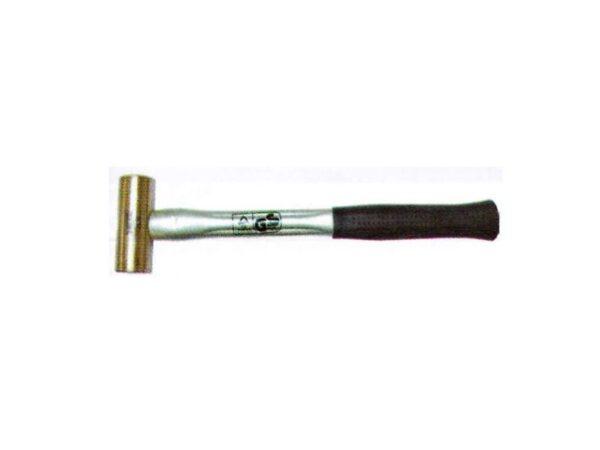 6020180186-NIETZ-3.0LB Copper Nietz Fibre Handle Hammer 55121030