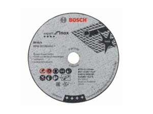 6040070083-BOSCH-5p BOSCH INOX CUTTING DISC 76x1x10mm 2608601520