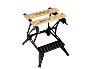 6080020067-BLACK&DECKER-WM225 Black & Decker Workmate Portable Work Bench With Vice