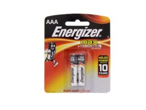 6080060021-ENERGIZER-2p AAA E92BP-2 Alkaline 1.5v LR03 Energizer Battery