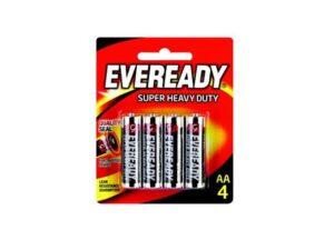 6080060030-EVEREADY-4p AA 1215BP4 1.5v R6 Eveready Battery