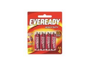 6080060071-EVEREADY-4p AA 1015BP4 1.5V R6 Eveready Battery