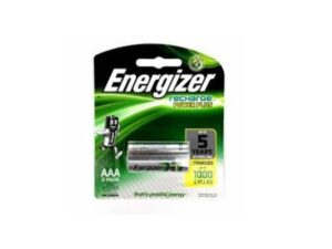 6080060087-ENERGIZER-NH12URP2 Recharge Universal 1.2v 2xAAA HR03 Energizer Battery