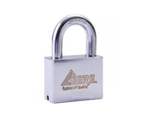 6080160076-GERE-CL95 50-4p KAL Gere Brass Padlock 50mm