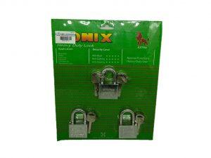 6080160101-SONIX-403KAL Chrome Padlock 40mmx3p
