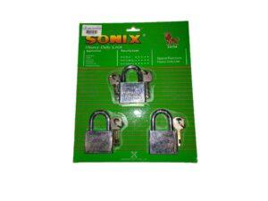 6080160230-SONIX-503KAL Chrome Padlock 50mmx3p