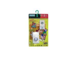 6110020048-QUSUN-OT-DB-D027KAC Weatherproof Wireless AC Doorbell 16music 1to1