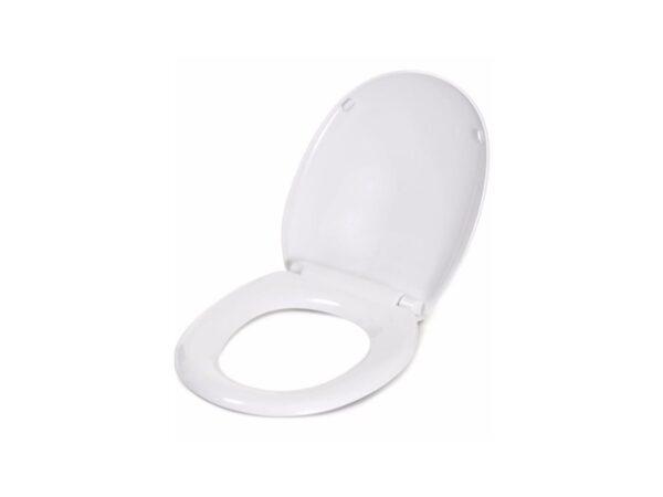 6150060207-TECHPLAS-White-4125 Medium Duty Techplas Toilet Seat Cover