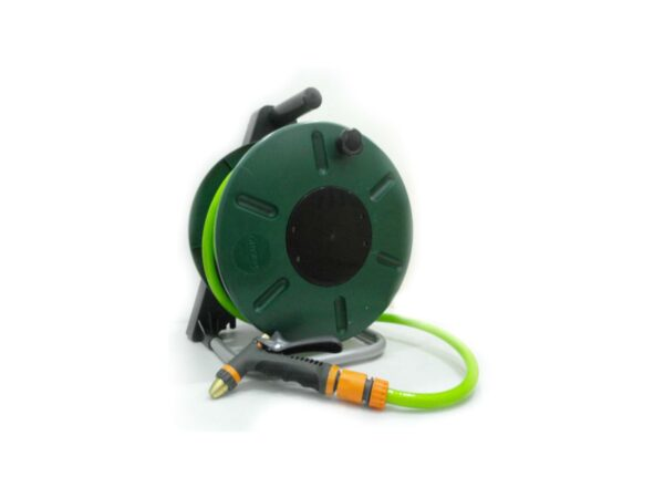 6150260016-HOKAH-25M 9in1 Hokah Portable Garden Hose With Reel & Nozzle