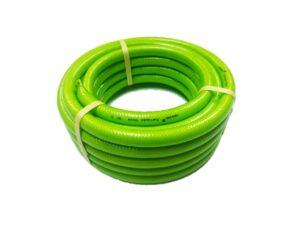 6150260025-HOKAH-HT10-LG 10M Green-White Braided Hokah Garden Hose