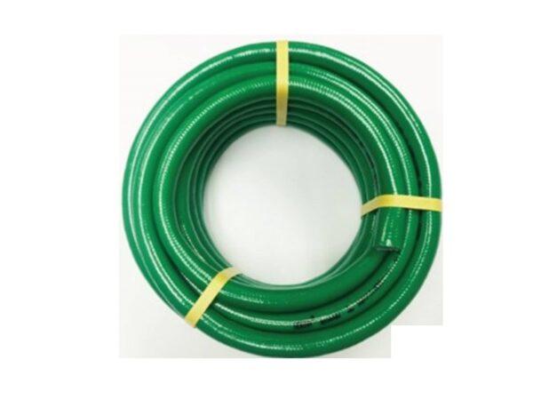 6150260026-HOKAH-HK1610-G 10M Green Braided Hokah Garden Hose