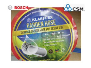 "6150260028-CSM-25M-5/8"" Apple Green Klasflex Braided Garden Hose"