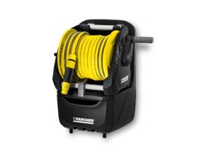 6150260044-KARCHER-HR7.315-15M-1-2in Premium Karcher Garden Hose Reel With Hose 2.645-164.0