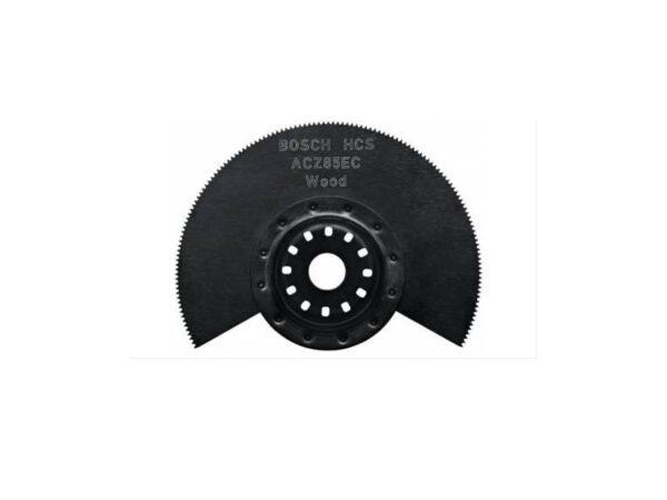 8010310032-BOSCH-ACZ85EC Bosch HCS Segment Multi-Cutter Saw Blade Wood 85mm 2608661643