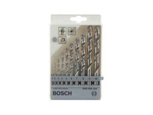 8050101596-BOSCH-1~10x1mm Bosch HSS-G Drill Set 2607019115