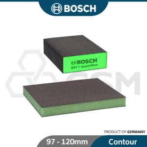 BOSCH Abrasive Color Foam Pad Block
