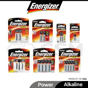 ENERGIZER Alkaline Battery AA AAA AAAA 1.5V E91 E92 E93 E96 C A23