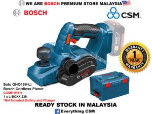 6010010072-BOSCH-Solo GHO18V-Li Bosch Cordless Planer 06015A0300