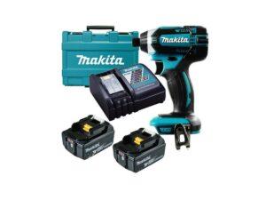 6010010113-MAKITA-DTD152RFE-1-4in-18V-LI Makita Li-Ion Battery Impact Driver 2x18V-3.0Ah 0-3500ipm 165N.m BL1830+DC18RC||||