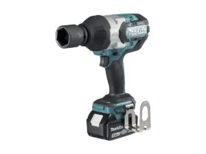6010010114-MAKITA-DTW1001RMJ-3-4in-18V-LI Makita Li-Ion Battery Impact Wrench 2x18V-4.0Ah 0-2000ipm 1050N.m BL1840+DC18RC
